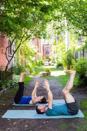 Yoga la vie - Table inversée