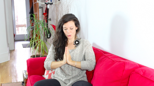 Yogalavie - Main en prière ou Anjali Mudra